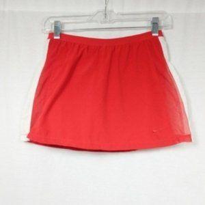 Nike Dri Fit Skirt Tennis Red & White Skort XS